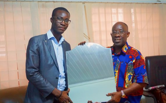 OSCAR, A LEVEL 300 STUDENT DONATES TO WIUC