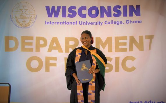 A RISING STAR GRADUATES FROM WIUC-GH MUSIC SCHOOL